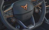 8 Cupra Leon 2021 UK FD steering wheel