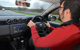Dacia Duster 2019 long-term review - Mitch McCabe driving