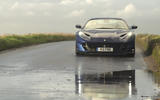 Ferrari 812 GTS 2020 UK first drive review - on the road nose