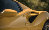 Ferrari F8 Tributo Spider 2020 UK first drive review - air intake