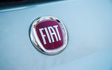 Fiat 500 Hybrid 2020 first drive review - rear badge