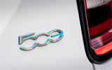 8 Fiat 500e Action 2021 UK FD rear badge