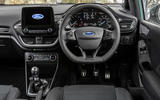 Ford Fiesta EcoBoost mHEV 2020 UK first drive review - dashboard