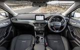 Ford Focus Active 2019 first drive review - cockpit