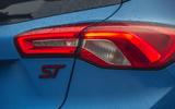 8 Ford Focus ST Edition 2021 UK FD rear lights