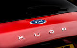 8 Ford Kuga FHEV 2021 UK FD rear badge