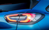 Ford Puma 2020 first drive review - rear lights