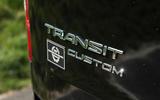 Ford Transit MS-RT custom review Transit badge