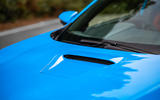 Honda Civic Type R 2020 UK first drive review - bonnet scoop