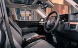 Honda e 2020 UK first drive review - cabin