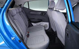 Hyundai i10 2020 UK first drive review - rear seats