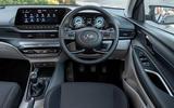 Hyundai i20 2020 UK first drive review - dashboard