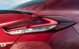 Hyundai i30 Fastback N 2019 UK first drive review - rear lights