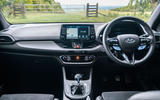 Hyundai i30 N 2020 UK first drive review - dashboard