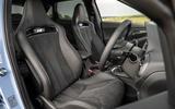 8 Hyundai i30N DCT 2021 UK FD front seats