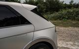 8 Hyundai Ioniq 5 2021 FD Norway plates rear three quarters