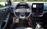 Hyundai Ioniq Electric 2019 first drive review - dashboard