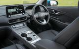 8 Hyundai Kona Electric 2021 UK first drive review cabin