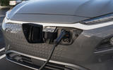 Hyundai Kona Electric 2018 first drive review charging port