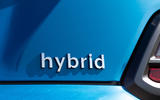 Hyundai Kona Hybrid 2019 first drive review - hybrid badge