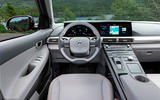 Hyundai Nexo 2019 first drive review dashboard