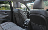 Hyundai Santa Fe 2018 UK first drive review - rear seats