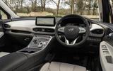 8 Hyundai Santa fe 2021 UK first drive review cabin