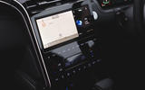 8 Hyundai Tucson MHEV 2021 uk first drive review infotainment