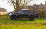 Isuzu D-Max Arctic Trucks 2020 UK first drive review - static side