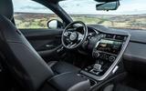 8 Jaguar E Pace P300e 2021 uk first drive review dashboard