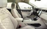8 Jaguar F Pace P400e 2021 uk first drive review cabin