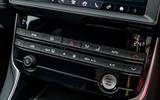 Jaguar XE 20t 2018 UK first drive review - climate controls