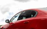 Jaguar XE 300 Sport 2018 UK first drive review side