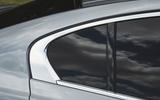 Jaguar XE P300 2019 UK first drive review - rear door arch