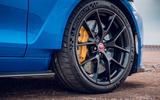 Jaguar XE SV Project 8 Touring 2019 UK first drive review - alloy wheels