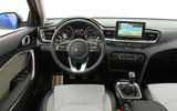 Kia Ceed 2018 first drive review steering wheel