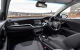 8 Kia e Niro 39kWh 2021 UK first drive review dashboard