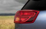 Kia Niro PHEV 2020 UK first drive review - rear lights