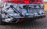 Kia Proceed GT 2018 prototype drive exhausts