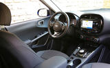 Kia Soul EV 2019 first drive review - dashboard