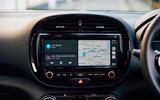 Kia Soul EV 2020 UK first drive review - infotainment