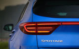 Kia Sportage GT-Line S 48V 2018 first drive review rear lights