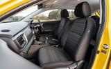 8 Kia Stonic 48v 2021 UK first drive review cabin