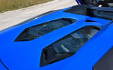 Lamborghini Aventador S 2018 first drive review engine cover