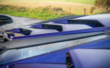 Lamborghini Aventador SVJ 2018 UK first drive review - rear styling