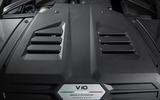 Lamborghini Huracan EVO RWD 2020 UK first drive review - engine cover