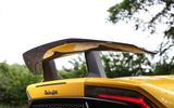 Lamborghini Huracan Performante Spyder 2018 UK review spoiler