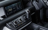 8 Land Rover Defender 90 D250 2021 UK first drive review infotainment