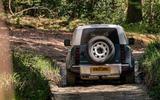 8 Land Rover Defender Hard Top Commercial 90 UK FD wading rear
