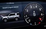 8 Land Rover Defender V8 2021 UK FD instruments
